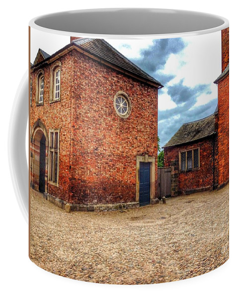Manor House Coffee Mug featuring the photograph The Side Door by Joan-Violet Stretch