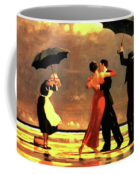 a57641c6668 Jack Vettriano Coffee Mug featuring the painting The Singing Butler by Jack  Vettriano