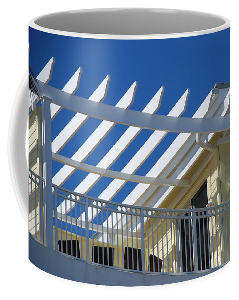 Architecture Coffee Mug featuring the photograph The Slots by Rob Hans