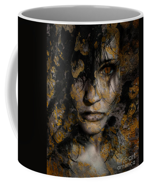 Face Coffee Mug featuring the photograph The Slow Decay by Angel Tarantella