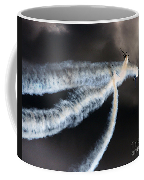 Blades Extra 300 Coffee Mug featuring the photograph The Smoke Makers by Angel Tarantella