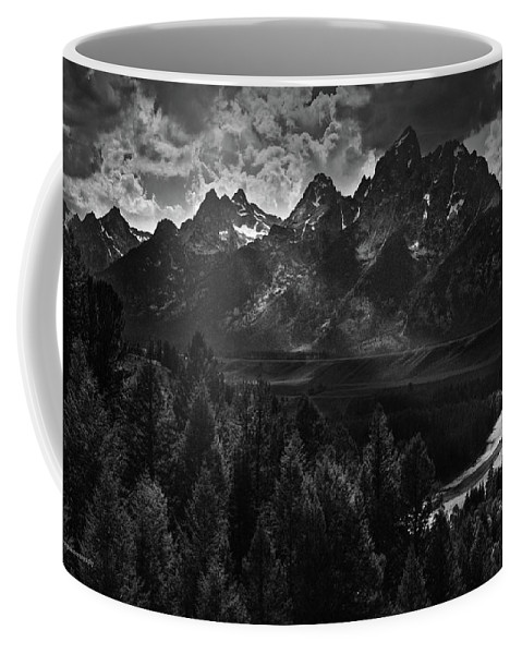 Ron Jones Coffee Mug featuring the photograph The Snake River by Ron Jones