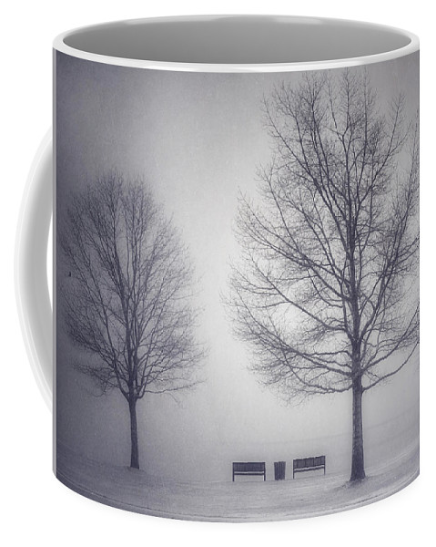 Photography Coffee Mug featuring the photograph The Soft Breath Of Winter by Tara Turner