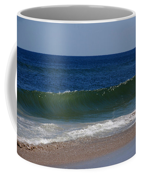 Waves Coffee Mug featuring the photograph The Song Of The Ocean by Susanne Van Hulst