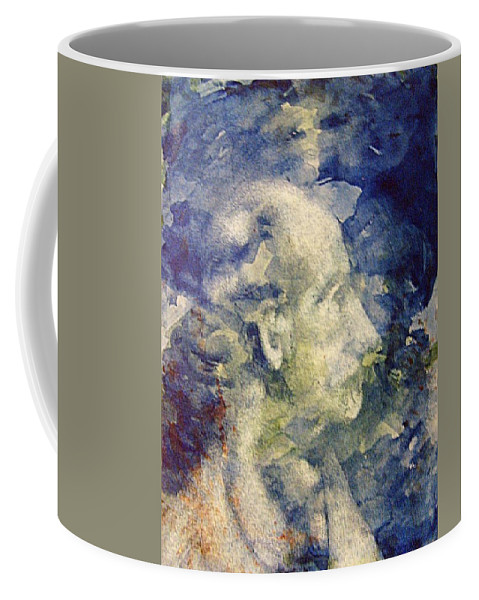 Soothsayer Coffee Mug featuring the painting The Soothsayer by Andrew Gillette