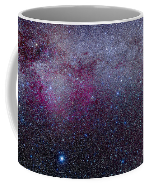 Canis Major Coffee Mug featuring the photograph The Southern Milky Way by Alan Dyer