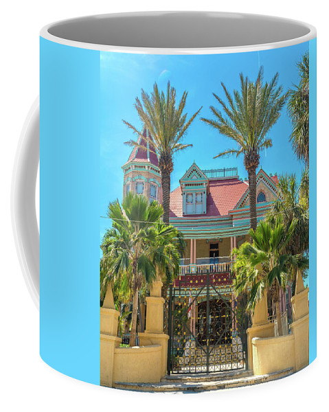Southernmost Coffee Mug featuring the photograph The Southern Most House Duval Street Florida by Betsy Knapp