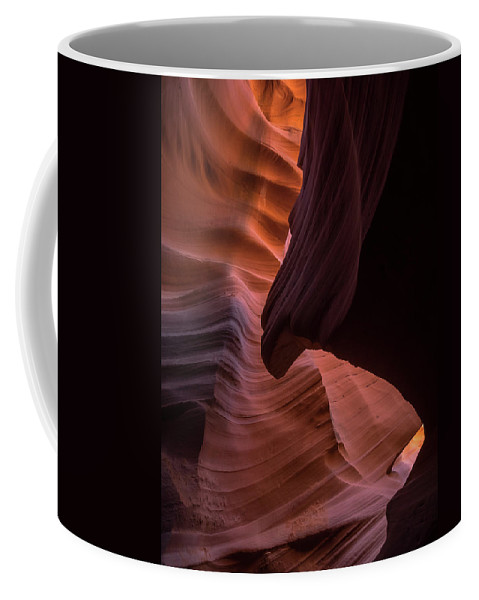 Antelope Canyon Coffee Mug featuring the photograph The Sphinx by Rob Wilson