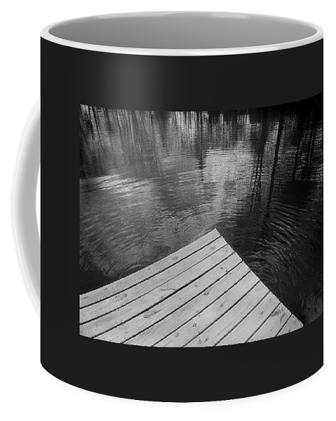 Pond Coffee Mug featuring the photograph The Spirits Of Kripplebush Pond by Yuri Lev