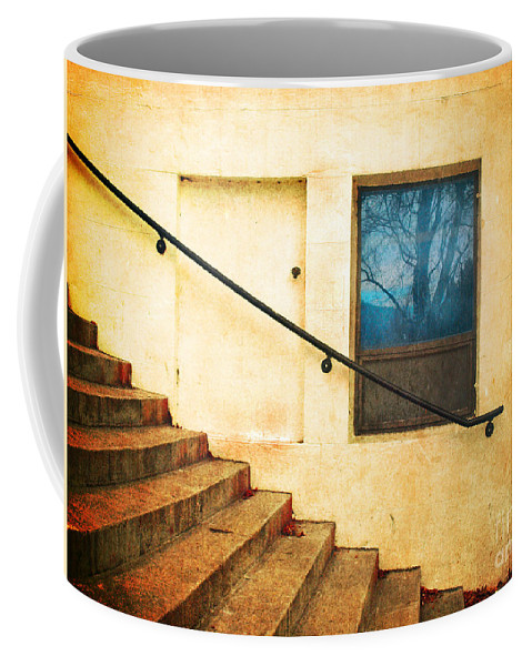 Stairs Coffee Mug featuring the photograph The Stairway Of Reflections by Tara Turner