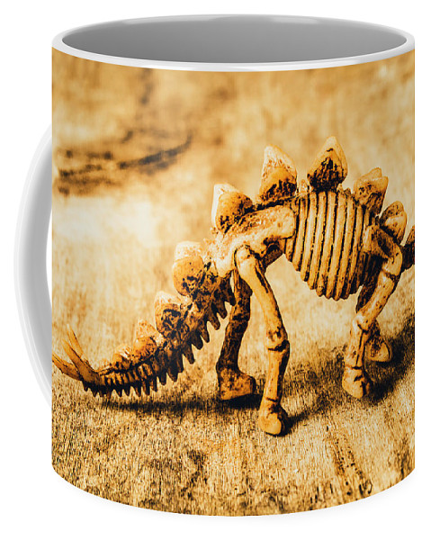 Exhibit Coffee Mug featuring the photograph The Stegosaurus Art In Form by Jorgo Photography - Wall Art Gallery