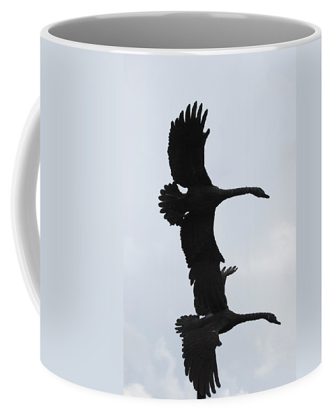 Sky Coffee Mug featuring the photograph The Stone Birds by Rob Hans