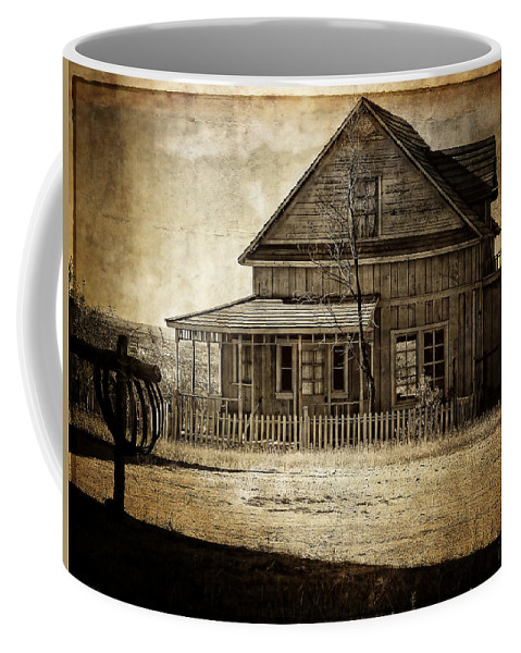 Texture Coffee Mug featuring the photograph The Stories This House Holds by Lucinda Walter