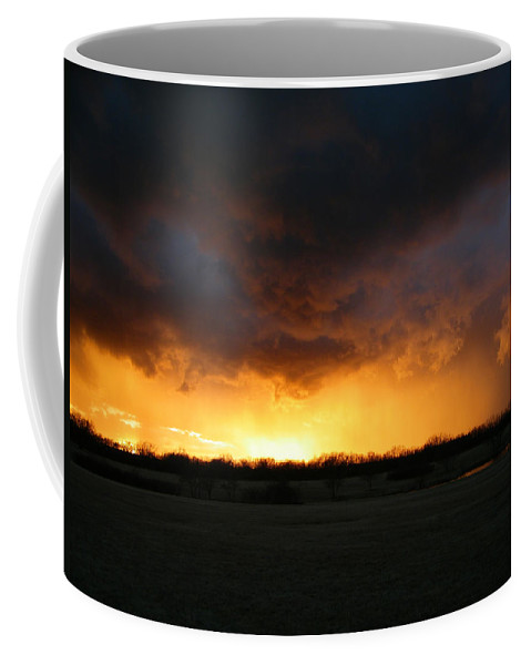 Storm Coffee Mug featuring the photograph The Storm by Gale Cochran-Smith