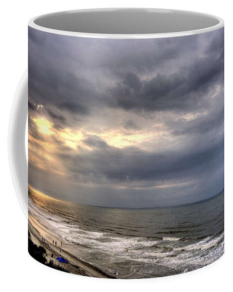 Sun Coffee Mug featuring the photograph The Storm Is Over by Ches Black