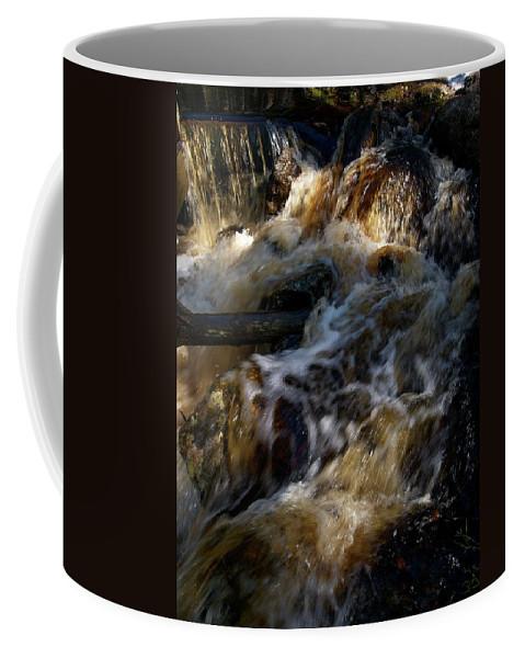 Lehtokukka Coffee Mug featuring the photograph The Stream 1 by Jouko Lehto