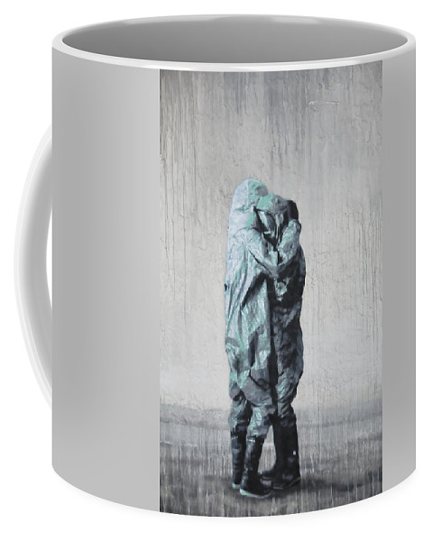 Abstract Coffee Mug featuring the photograph The Survivors by Kicking Bear Productions