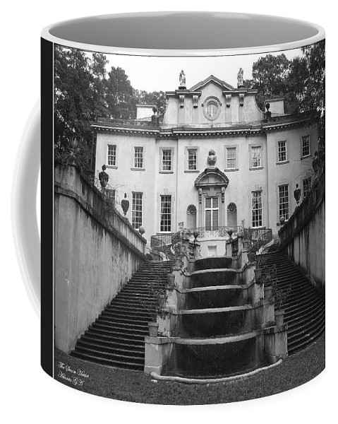 Historic Landmark Coffee Mug featuring the photograph The Swan House by Robert Meanor