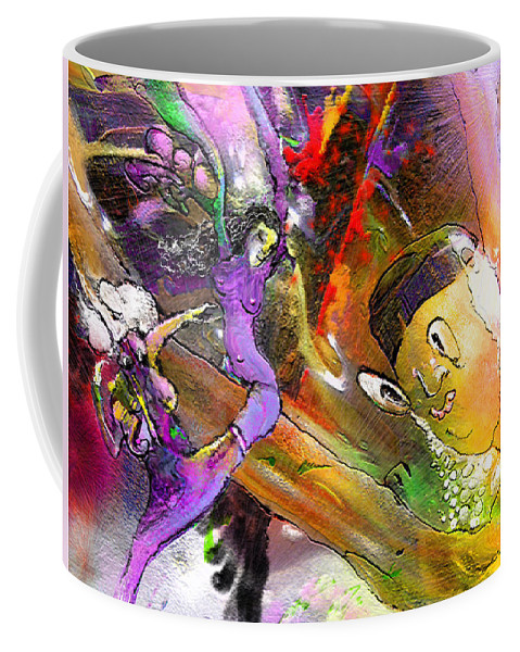 Fantasy Coffee Mug featuring the painting The Sweeties 02 by Miki De Goodaboom