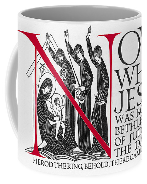 The Three Wise Men Nativity Scene Coffee Mug For Sale By Eric Gill