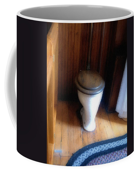 Antique Coffee Mug featuring the painting The Throne Room by RC DeWinter