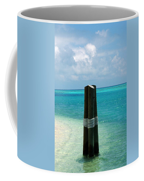 Tropical Coffee Mug featuring the photograph The Triplets by Susanne Van Hulst