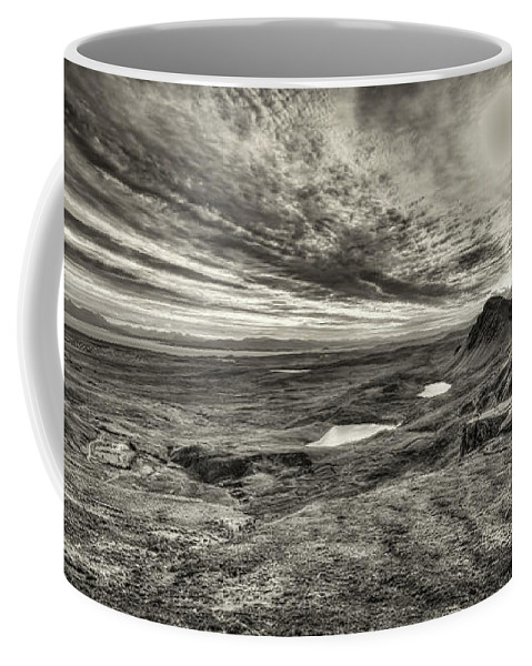 Isle Of Skye Coffee Mug featuring the photograph The Trotternish Ridge No. 3 by Phill Thornton