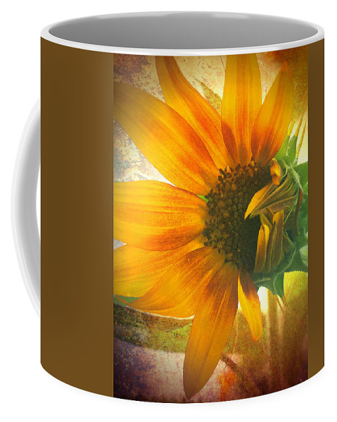 Sunflower Coffee Mug featuring the photograph The Truth-teller by Tara Turner