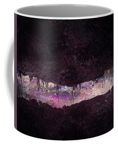 Tunnel Coffee Mug featuring the digital art The Tunnel by William Russell Nowicki