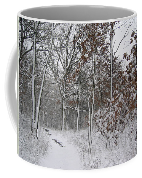 Landscape Coffee Mug featuring the photograph The Unbeaten Path by Dylan Punke