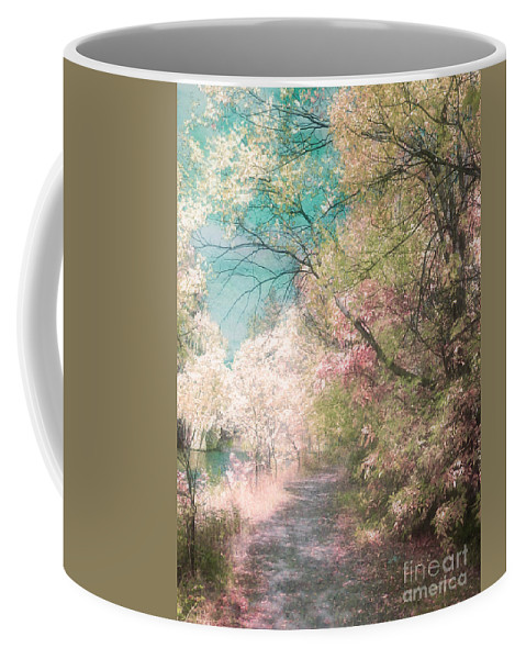 Pastel Coffee Mug featuring the photograph The Walkway Of Forgotten Dreams by Tara Turner