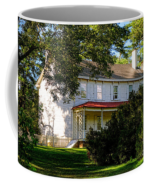 Walnford Coffee Mug featuring the photograph The Waln House by Olivier Le Queinec