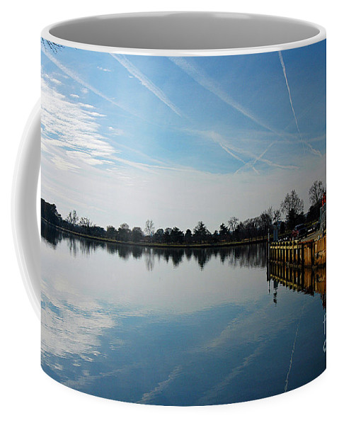 Clay Coffee Mug featuring the photograph The Washington D.c. Basin by Clayton Bruster