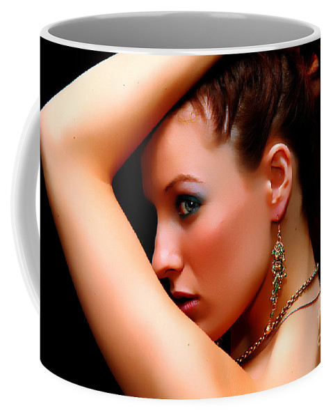 Clay Coffee Mug featuring the photograph The Watcher Vii by Clayton Bruster