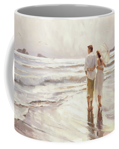 Love Coffee Mug featuring the painting The Way That It Should Be by Steve Henderson