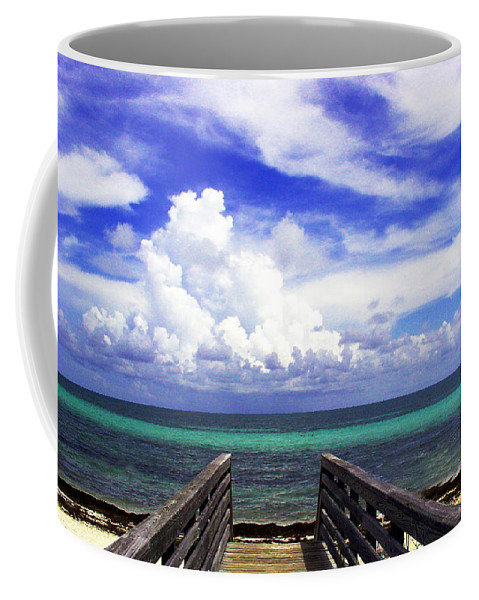 Way To The Beach Coffee Mug featuring the photograph The Way To The Beach 2 by Susanne Van Hulst