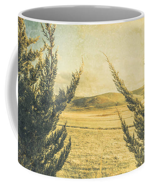 Vintage Coffee Mug featuring the photograph The Wayback Meadow by Jorgo Photography - Wall Art Gallery