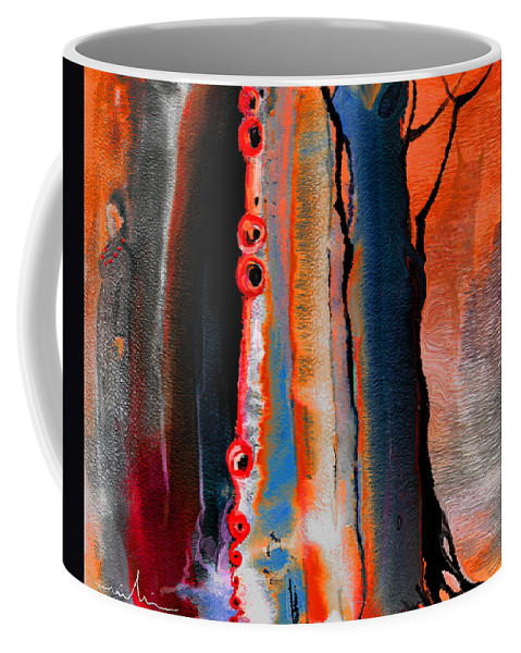 Fantasy Painting Coffee Mug featuring the painting The Werewolf by Miki De Goodaboom