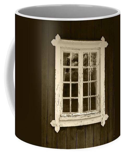 Lehtokukka Coffee Mug featuring the photograph The Window 2 by Jouko Lehto