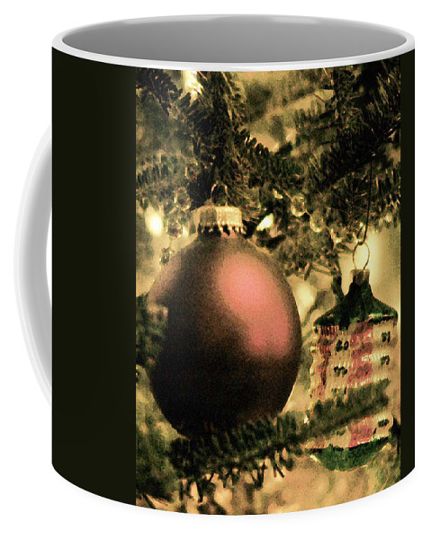 Xmas Coffee Mug featuring the photograph The Winter Holiday. by Robert Ponzoni