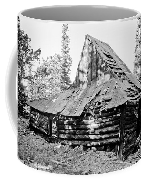 Rustic Coffee Mug featuring the photograph The Witch Hat by James BO Insogna