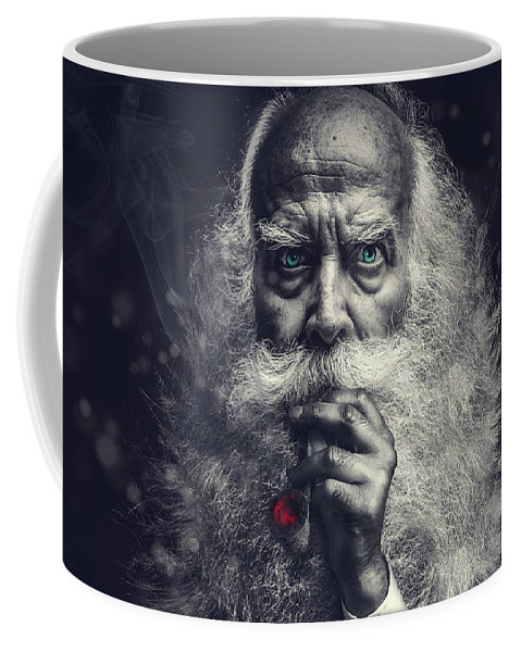 Wizard Coffee Mug featuring the photograph The Wizard by Pixabay