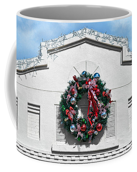 Wreath Coffee Mug featuring the photograph The Wreath by Christopher Holmes