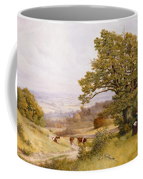The Coffee Mug featuring the painting The Young Artist by Henry Key