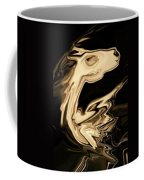 Art Coffee Mug featuring the digital art The Young Pegasus by Rabi Khan