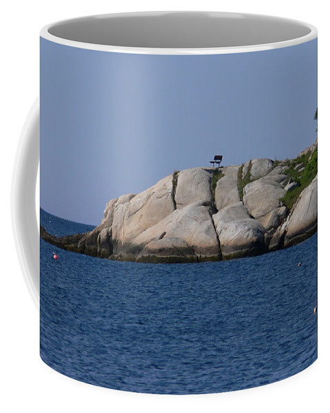 New England Photos Coffee Mug featuring the photograph There Is A Seat Waiting For You by Nancie DeMellia