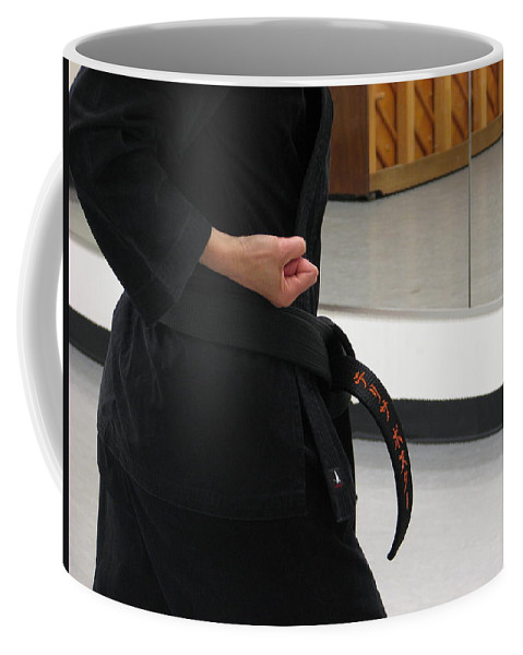 Karate Coffee Mug featuring the photograph Theresa by Kelly Mezzapelle