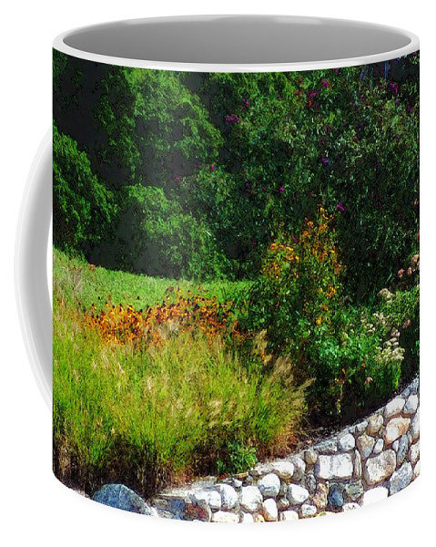 Connecticut Coffee Mug featuring the painting These Are A Few Of My Favorite Things by RC DeWinter