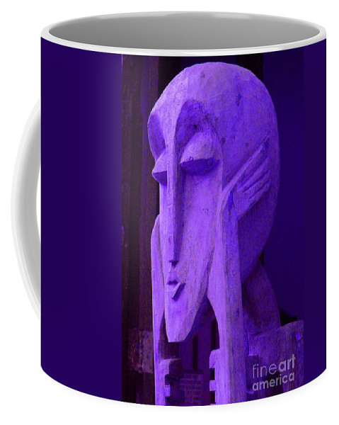 Head Coffee Mug featuring the photograph Think About It by Debbi Granruth