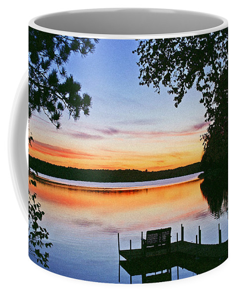 Sunset Coffee Mug featuring the photograph Thinking of you by Bill Morgenstern